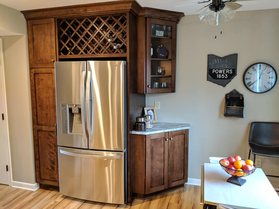 Functional kitchen design in Gallaway, Ohio