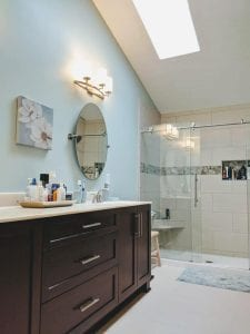Master Bathroom remodel in Hilliard Ohio