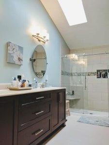 Master bathroom remodel in Hilliard Ohio