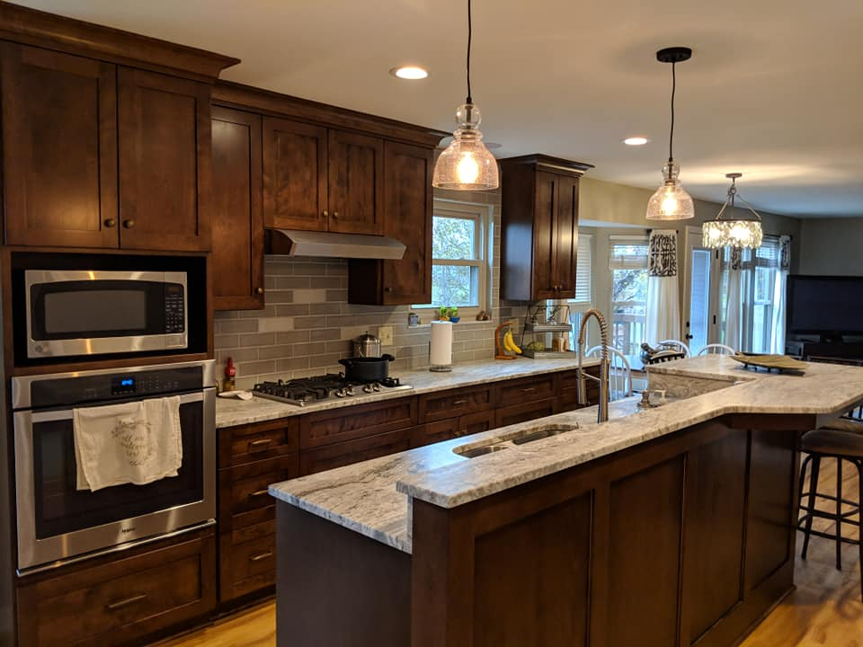 beautiful kitchen renovation in galloway ohio