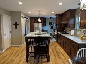 Modern kitchen remodel in Gallaway, Ohio