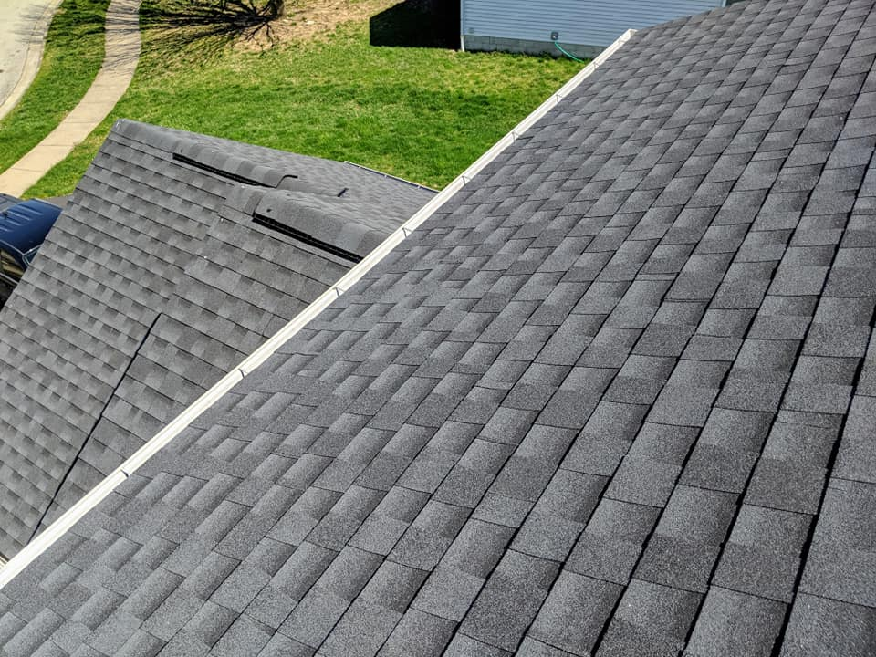 Residential roof installation near Columbus Ohio
